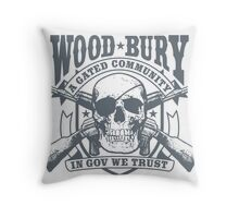 Woodbury, A Gated Community Throw Pillow