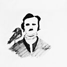 Edgar Allan Poe by ShellyKay