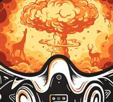 Atom Bomb Sticker
