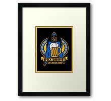 Spocktoberfest on Black Framed Print