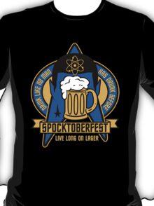 Spocktoberfest on Black T-Shirt