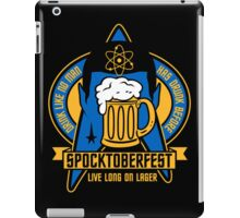 Spocktoberfest on Black iPad Case/Skin