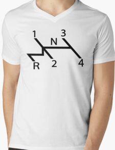 vw shift diagram in black T-Shirt