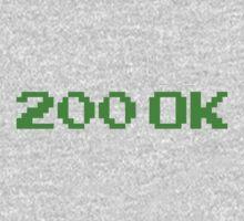 200 OK T-SHIRT One Piece - Long Sleeve