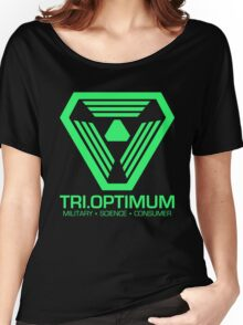 TriOptimum Corporation Women's Relaxed Fit T-Shirt