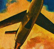 Vintage children's book cover Sticker
