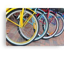 On Ya Bike Canvas Print