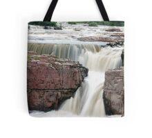Waterfall Sioux Falls South Dakota Tote Bag