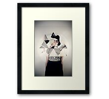 Unexpected Portrait III Framed Print