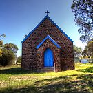 St Andrew's Anglican Church Bendick Murrell  NSW  Australia Rural by Kym Bradley