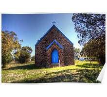 St Andrew's Anglican Church Bendick Murrell  NSW  Australia Rural Poster