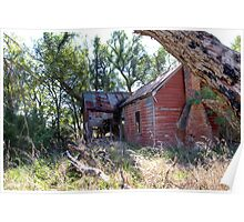 In need of some Love  House Ruins  Rural NSW Australia  Poster