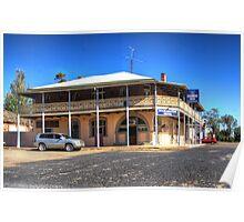 Koorawatha  Hotel Rural NSW  Australia  Poster