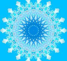 Mystical Snow Cloud Mandala by haymelter