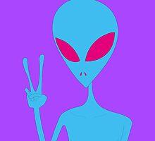 Acid Peace Alien by myacideyes
