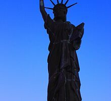 Lady Liberty of Burlington by Adam Kuehl