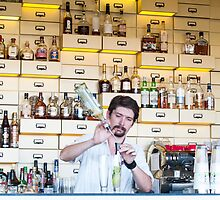 the barman by Anne Scantlebury