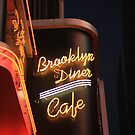 Brooklyn Diner Cafe by Kezzarama