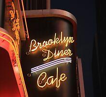 Brooklyn Diner Cafe by Kezzarama
