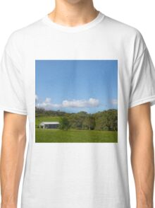 Farm shed on rural property Classic T-Shirt