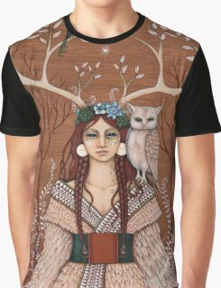 Wood Witch Graphic T-Shirt