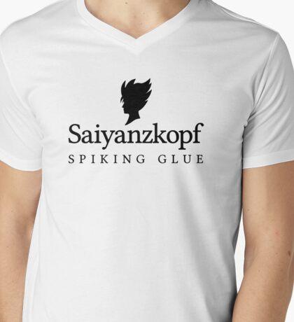 Super Saiyan Hair Gel Mens V-Neck T-Shirt