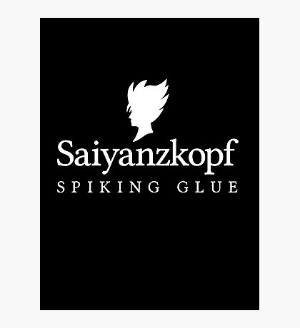 Super Saiyan Hair Gel (2nd Version)  Photographic Print