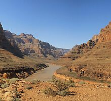 Grand Canyon Panorama 2013 by Kezzarama