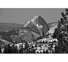 Half Dome in Spring Photographic Print