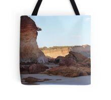 Anglesea cliffs Tote Bag