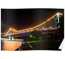 The Story Bridge - Colour Poster