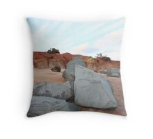 Anglesea rocks Throw Pillow