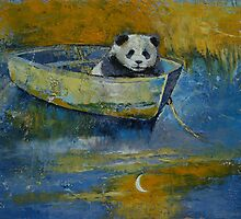 Panda Sailor by Michael Creese