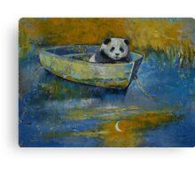 Panda Sailor Canvas Print