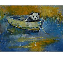 Panda Sailor Photographic Print