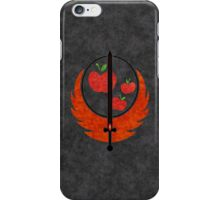 Applejack's Rangers Logo iPhone Case/Skin