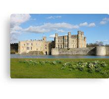 Leeds Castle in Kent United Kingdom Canvas Print