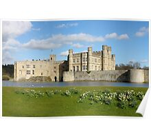 Leeds Castle in Kent United Kingdom Poster