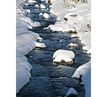 Snowy River view Photographic Print