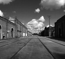 Ipswich Railway Workshops Queensland by Noel Elliot