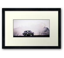 INTENSE Asponats Burnout Framed Print