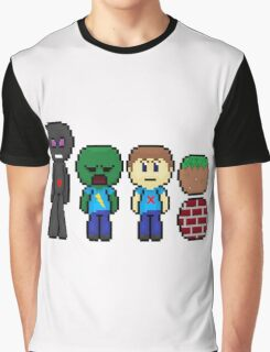 minecraft!!!!!!!! Graphic T-Shirt