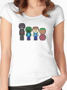 minecraft!!!!!!!! Women's Fitted Scoop T-Shirt