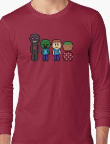 minecraft!!!!!!!! Long Sleeve T-Shirt