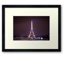 Brilliant Eiffel tower Framed Print