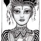 The Queen of Hearts by Jenny Wood