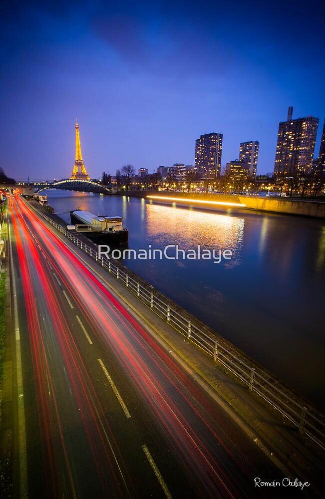 Eiffel tower V by RomainChalaye
