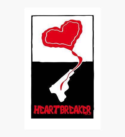 Heartbreaker Graphic Poster Photographic Print