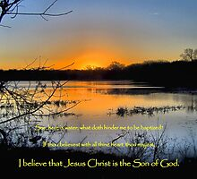 I Believe That Jesus Christ IS the Son of God by aprilann