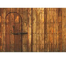 Old Wooden Gate Photographic Print
